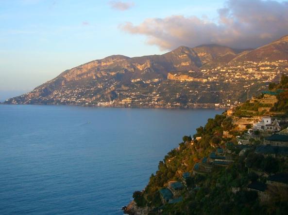Amanhecer na Amalfitana