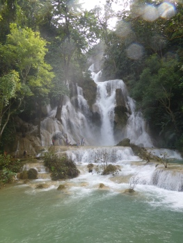 Natureza exuberante em Laos